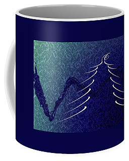 Blue Christmas Coffee Mug
