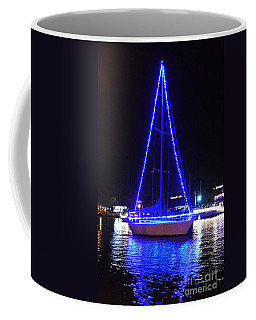Coffee Mug featuring the photograph Blue Christmas  by Laurie Lundquist