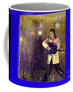 Blue Christmas Without Elvis Coffee Mug