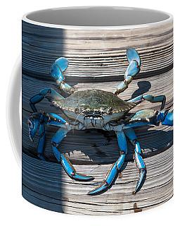 Blue Crab Pincher Coffee Mug