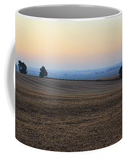 Coffee Mug featuring the photograph Blue Dawn by Viviana  Nadowski
