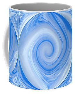 Blue Design Coffee Mug