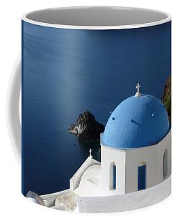 Blue Domed Church Coffee Mug