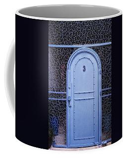 Blue Door Old City Jerusalem Israel Coffee Mug