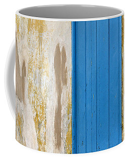Blue Door Coffee Mug