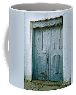 Blue Doors On Brewer Street Coffee Mug