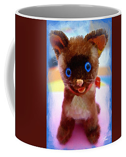Blue Eyed Kitty Coffee Mug