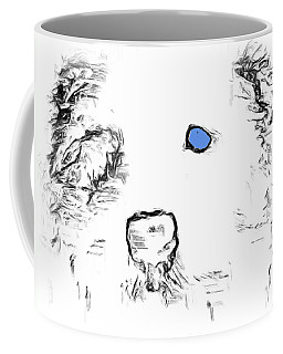 Blue Eyed Pup Coffee Mug