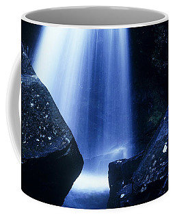 Coffee Mug featuring the photograph Blue Falls by Rodney Lee Williams