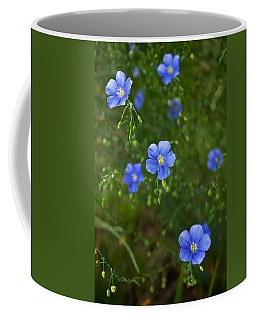 Blue Flax Coffee Mug