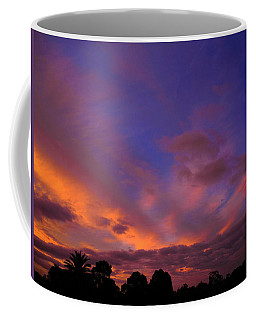 Coffee Mug featuring the photograph Blue Gold Sunrise by Mark Blauhoefer