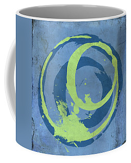 Blue Green 7 Coffee Mug