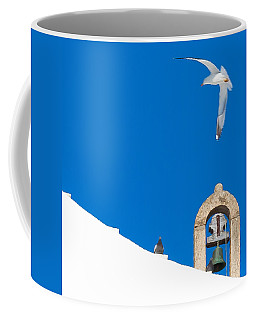 Blue Gull Coffee Mug