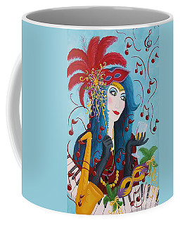 Blue Haired Lady Coffee Mug