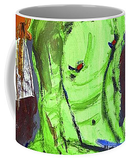 Blue Haired Nude Coffee Mug