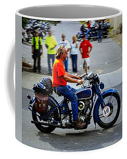 Blue Harley 46 Coffee Mug