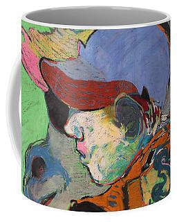 Blue Hat Jockey Coffee Mug