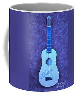 Blue Hawaii Ukulele Coffee Mug