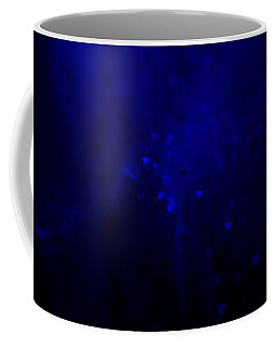 Blue Hearts Coffee Mug