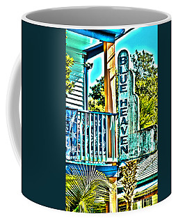 Blue Heaven In Key West - 1 Coffee Mug by Susanne Van Hulst