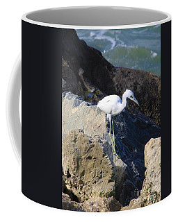 Blue Heron  Coffee Mug by Chris Thomas