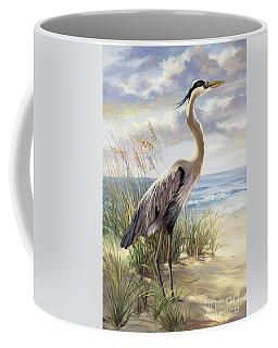 Blue Heron Deux Coffee Mug