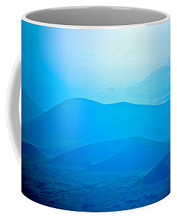 Blue Hills To Mauna Kea Coffee Mug