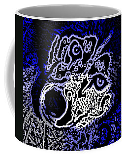 Blue Husky Coffee Mug