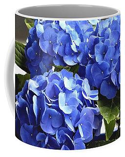 Blue Hydrangea Coffee Mug by Lehua Pekelo-Stearns
