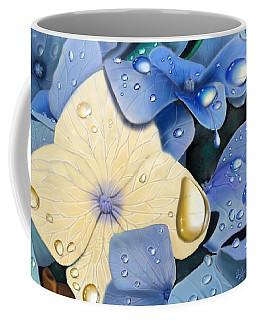 Blue Hydrangeas Coffee Mug