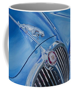 Vintage Blue Jag Coffee Mug