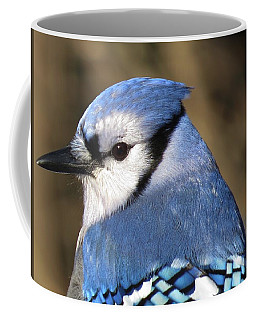 Blue Jay Profile Coffee Mug