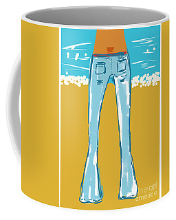 Blue Jean Summer Coffee Mug
