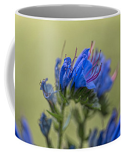 Coffee Mug featuring the photograph Blue by Leif Sohlman