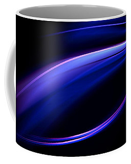 Blue Purple Light Coffee Mug