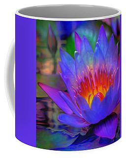 Blue Lotus Coffee Mug