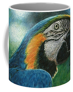 Blue Macaw Coffee Mug