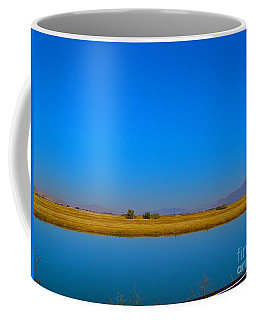 Blue Meets Blue Coffee Mug