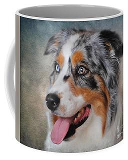 Blue Merle Australian Shepherd Coffee Mug