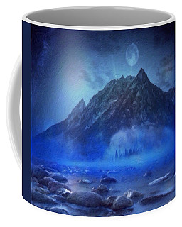 Blue Mist Rising Coffee Mug