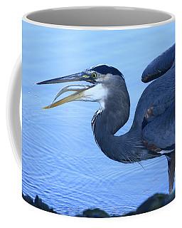 Blue Heron Gulp Coffee Mug