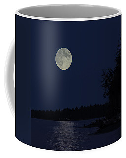 Blue Moon Coffee Mug by Randy Hall