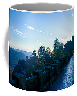 Blue Morning On The Bastei Coffee Mug