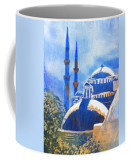 Blue Mosque In Blues Coffee Mug