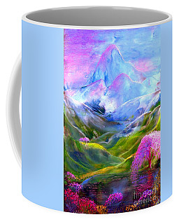 Blue Mountain Pool Coffee Mug