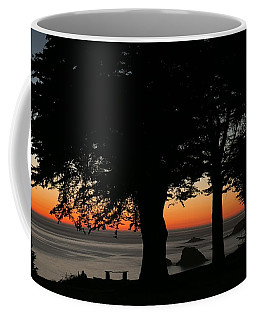Blue Pacific At Sunset Coffee Mug