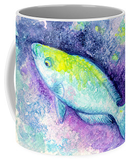 Blue Parrotfish Coffee Mug