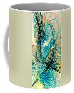Blue Phoenix Coffee Mug by Anastasiya Malakhova