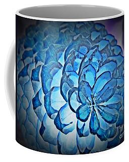 Blue Pine Cone 2 Coffee Mug