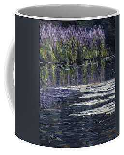 Blue Pond Coffee Mug